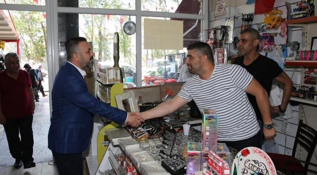 Sincan Belediye Başkanı Murat Ercan Esnaf Gezilerine Devam Ediyor