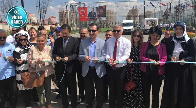 Altındağ'da Karacaören Spor Tesisi Yoğun Katılımla Açıldı