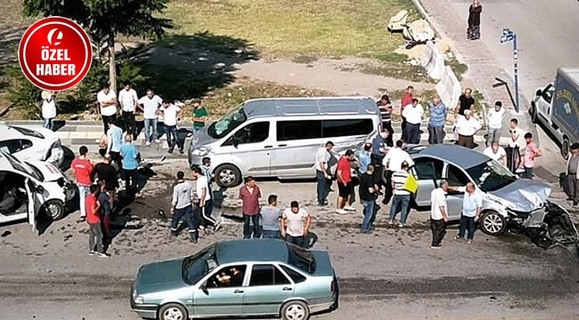 Ankara'da Zincirleme Kaza! 4 Araç Birbirine Girdi: 3 Yaralı