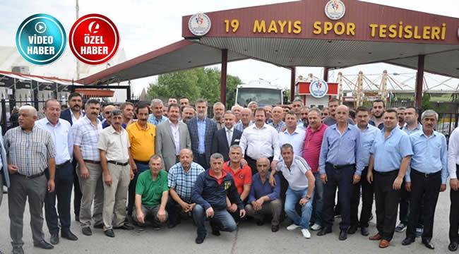 Ankaragücü'nden 19 Mayıs'ta Kombine Çıkarması