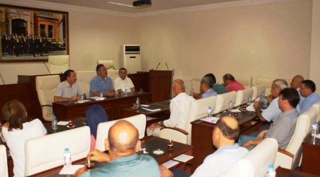 Çubuk Turşu Ve Kültür Festivali Değerlendirme Toplantısı Yapıldı