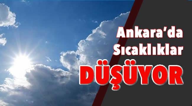 Meteoroloji Verileri Açıklandı! Ankara'da Sıcaklıklar Düşüyor... İşte Hava Durumu