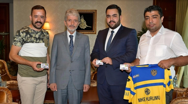Tuna'dan Ankaragücü Taraftarlarına Hediye Kombine Kart