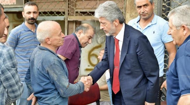 Mustafa Tuna: ''Önceliğimiz Altyapı''