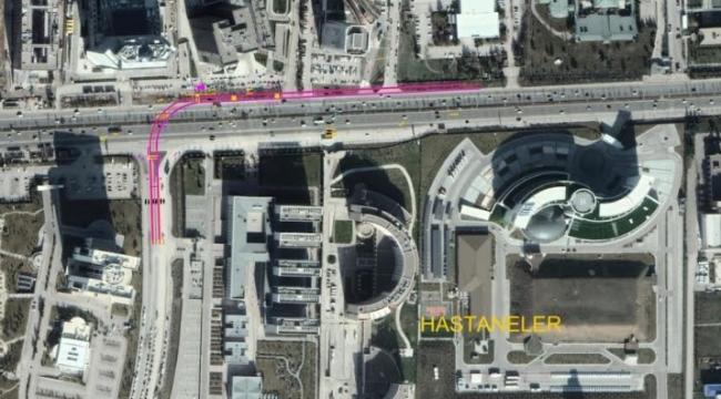 Yeni Yol Açılıyor... Bilkent Şehir Hastanesi Angora Bulvarı'na Bağlanacak