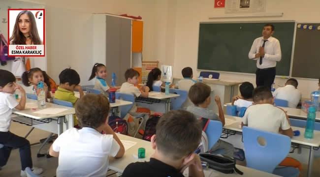 Ankara'da Öğrenci ve Velilerin Okul Heyecanı