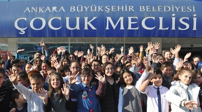 Büyükşehir Belediyesi Çocuk Meclisi Yeni Dönem Başvuruları Başlıyor