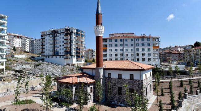 Feridun Çelik Mahallesi'nde Bir Cami Daha Gün Sayıyor