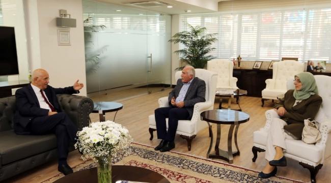 Güdül Belediye Başkanı Yıldırım'dan Fethi Yaşar'a Ziyaret