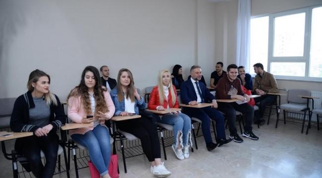 Kahramankazan'da Üniversite Öğrencileri Destek Projesi ''Aramıza Hoşgeldin''