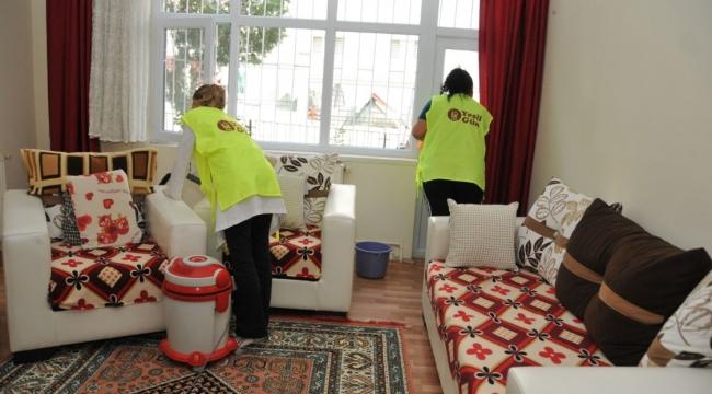 Keçiören'de Evde Bakım ve Temizlik Hizmetleri Devam Ediyor