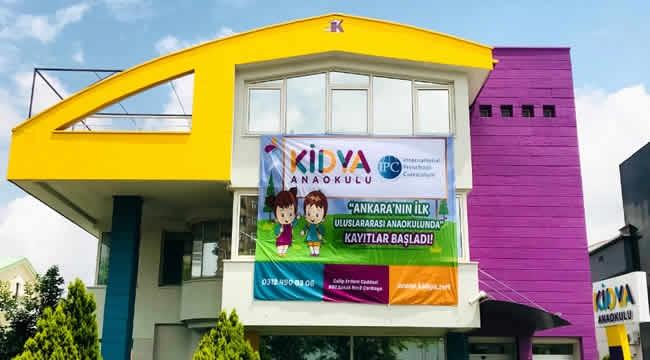 Kidya Anaokulu Çankaya'da Açılıyor