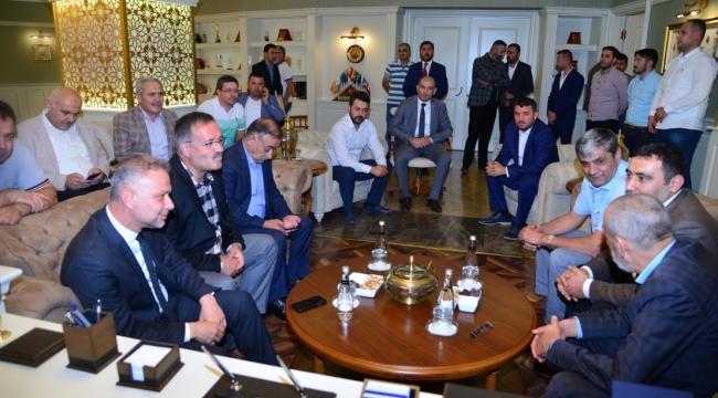MHP'li Yıldırım'dan Lokman Ertürk'e Ziyaret
