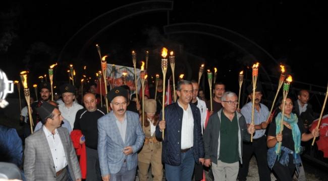 Şafak Vakti Duygu Seli! Polatlı'da ''Şafak Yürüyüşü'' Yapıldı