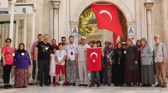 Sincan Belediyesi'nden Şehit Ailelerine Özel Gezi