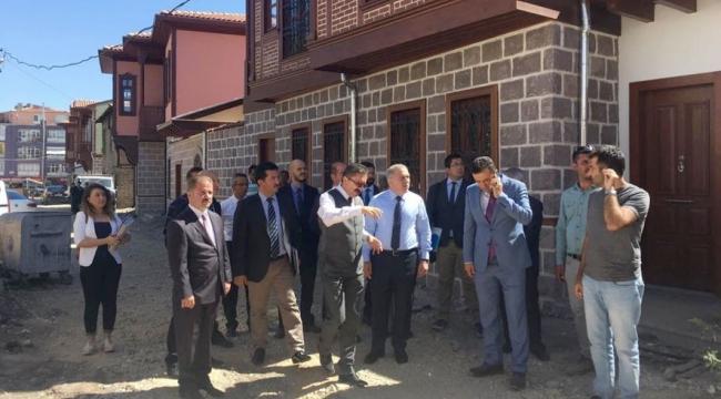 TOKİ Başkanı Mehmet Ergün Turan Hamamarkası'nda