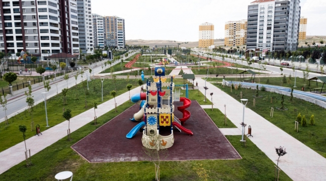 Yenimahalle Ata Mahallesi'nde Dev Park
