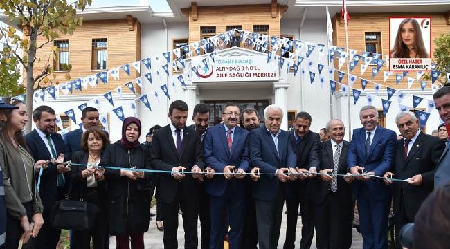 Altındağ'da Coşkulu Açılış! Karapürçek Aile Sağlığı Merkezi ve Veysel Karani Parkı Açıldı