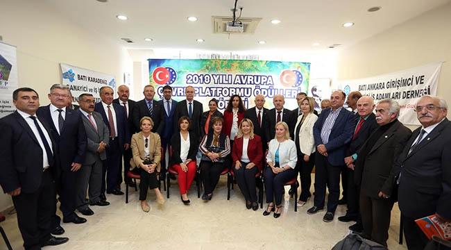 Avrupa Çevre Ödülleri Sahibini Buldu! Fethi Yaşar ve Hüseyin Kutsi Tuncay'a Ödül...