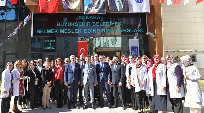 Başkent'in En Büyük BELMEK'i 'O' İlçede Açıldı!