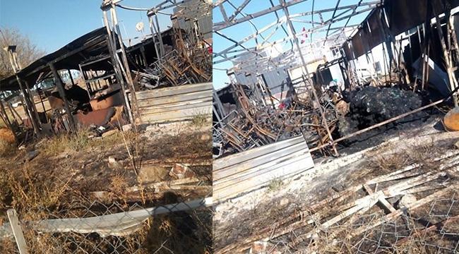 Çankaya'da Akaryakıt İstasyonu Yanında Yangın Çıktı... Korku Dolu Anlar!
