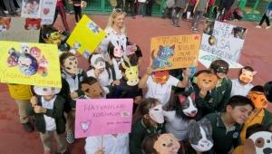 Çankaya'da Çocuklar Dostlarını Yalnız Bırakmadı