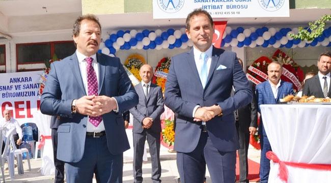 Etimesgut'ta Berberler İçin İrtibat Bürosu Açıldı