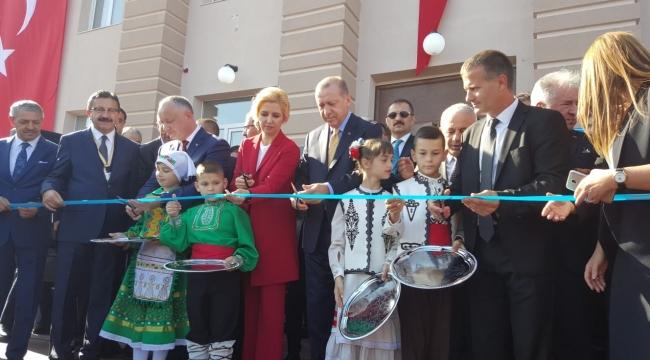 Gagavuzya'da Altındağ Yatırımları! Açılışı Recep Tayyip Erdoğan İle Birlikte Yaptılar