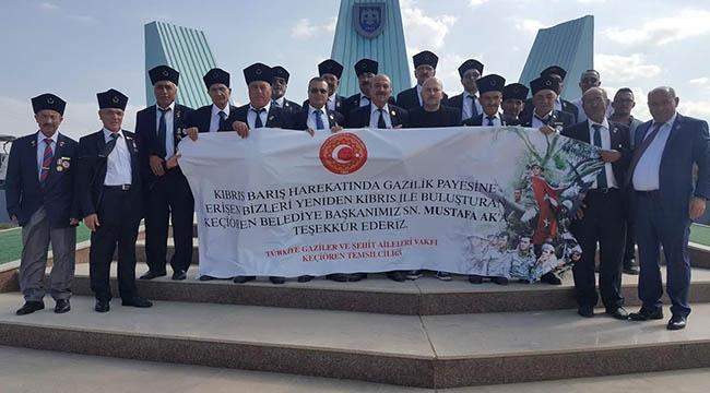 Keçiören 'Onların' Hasretini Dindirdi! Gaziler Kıbrıs'a Gitti...