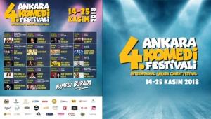 Komedi Burada: 4. Ankara Uluslararası Komedi Festivali'nin Programı Belli Oldu!