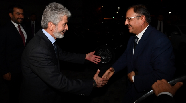 Adaylık Açıklamasının Ardından Ziyaret! Mustafa Tuna ve Mehmet Özhaseki Bir Araya Geldi