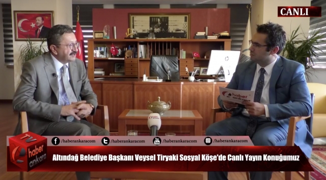 Altındağ Belediye Başkanı Veysel Tiryaki Sosyal Köşe'de Vatandaşların Sorularını Yanıtladı...