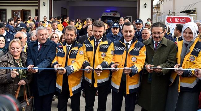 Altındağ'da 5 Adet 112 Acil Sağlık İstasyonu Açıldı