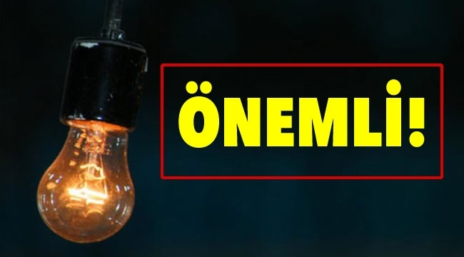 Ankara'nın 12 İlçesinde Elektrik Kesintisi! İşte Etkilenecek Yerlerin Listesi...