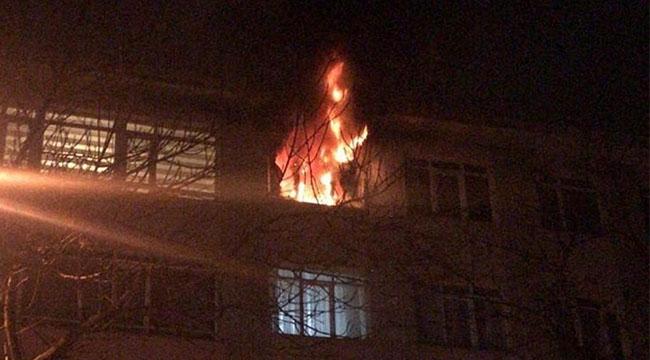 Ankara'da Yangın Paniği! Hayvanlar Telef Oldu...