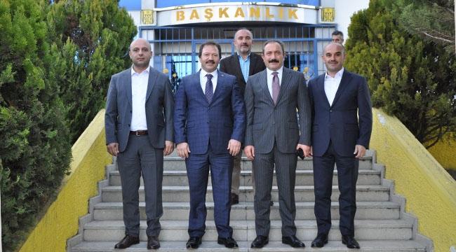 Ankara Emniyet Müdürü Servet Yılmaz'dan Ankaragücü'ne Ziyaret