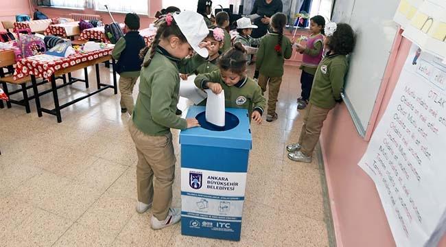 Ankaralı Miniklere 'Sıfır Atık' Eğitimi