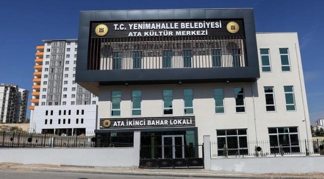 ARALIKTA AÇILACAK! Yenimahalle'ye 5 Yeni Kültür Merkezi