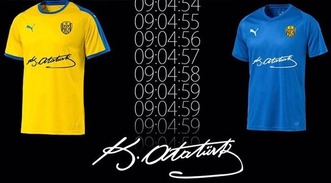 ATA'nın Takımı Ankaragücü'nden ATA'ya Saygı! İşte Formalar...