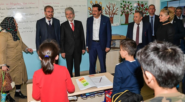 Başkanlardan Esnaf Ziyareti! Mustafa Tuna Ve Mustafa Ak'tan Keçiören Turu...
