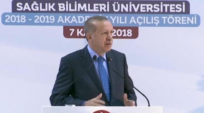 Cumhurbaşkanı Erdoğan: ''Bilkent Şehir Hastanesi Aralık Ayı Sonunda Açılacak''