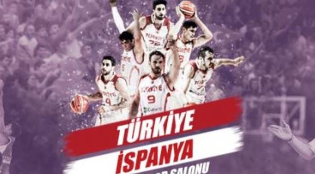 Haydi Ankara Maça! Türkiye-İspanya Basketbol Maçı Biletleri Satışta..