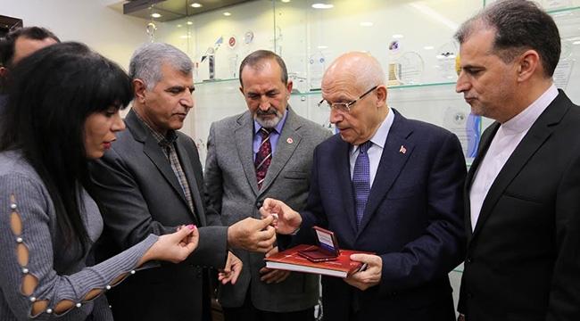 İranlı İşadamlarından Fethi Yaşar'a Ziyaret