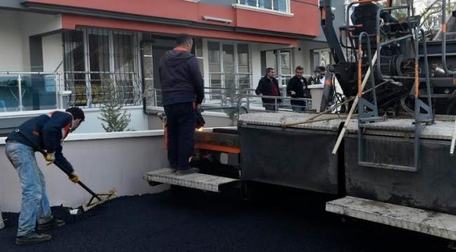 Mamak'ın Cadde ve Sokaklarına 10 Yılda 3 Milyon 110 Bin Ton Asfalt Döküldü
