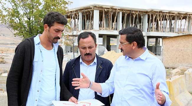 Mustafa Ak Denetimde! Keçiören'de Mahalle Konaklarına Yenileri Ekleniyor