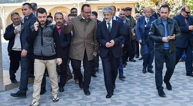 Mustafa Tuna'dan Yenimahalle Esnafına Ziyaret