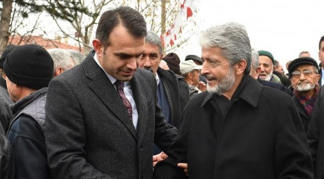 Mustafa Tuna Kızılcahamam'da Camii Açılışına Katıldı