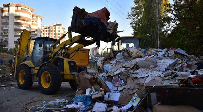 SEFERBERLİK BAŞLADI! Başkent Ankara'da Atık Temizliği Sürüyor...
