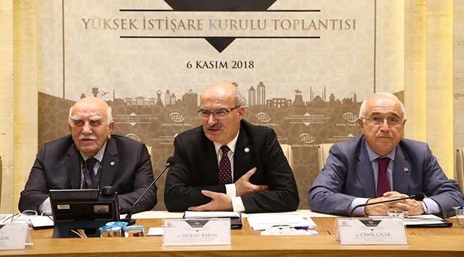 TOPLANDI, ÇÖZÜM ARADI! ATO'da Yüksek İstişare Kurulu Toplantısı...