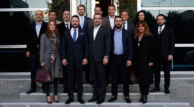 TÜGİAD Ankara Şubesi Genel Başkanı Ali Yücelen'i Ziyaret Etti